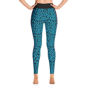 Just.Love.Dogs Cougar Print: Yoga Leggings