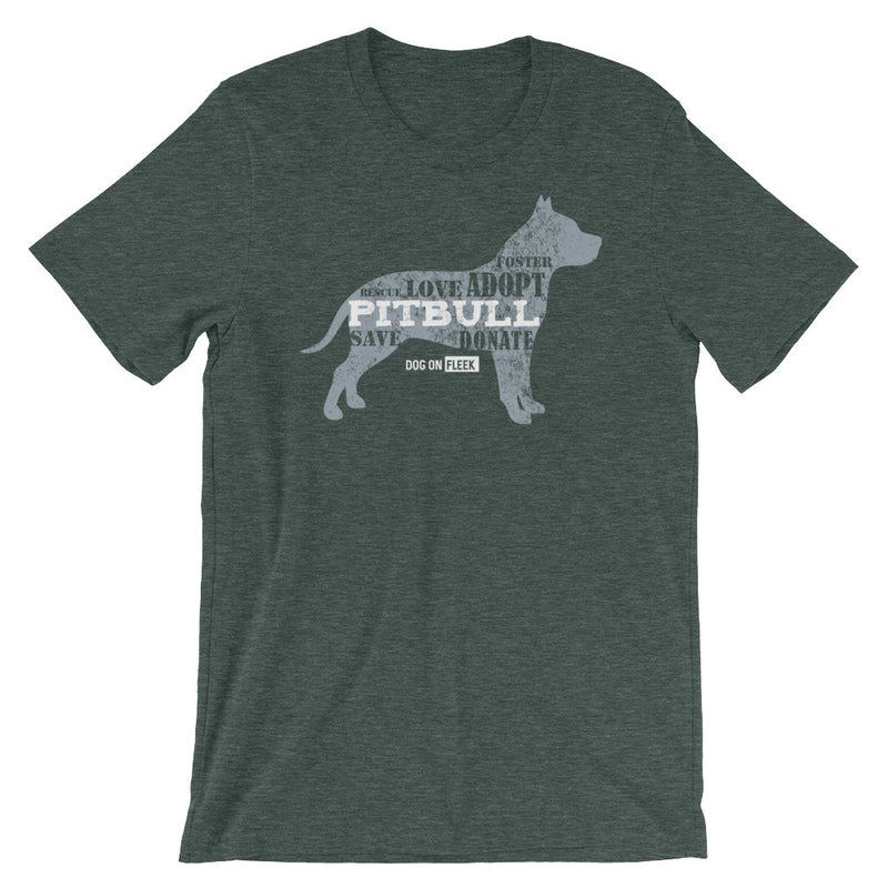 Pitbull Rescue: Short-Sleeve T-Shirt
