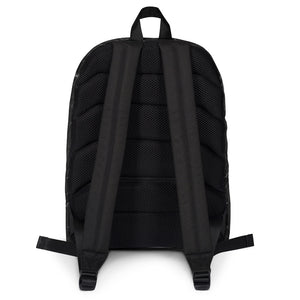 Dog Mom AF Black Marble: Backpack