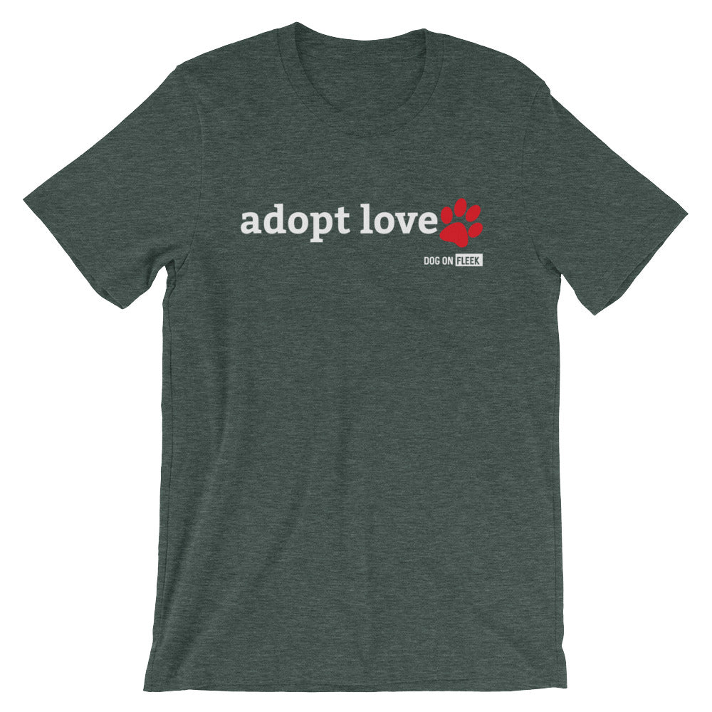 Adopt Love: Short-Sleeve T-Shirt