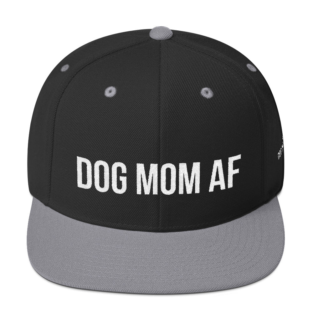 287c1d0e503 Dog Mom AF  Snapback Hat – Dog on Fleek