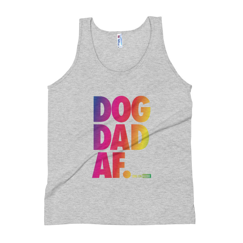 Dog Dad AF Pride: Tank Top