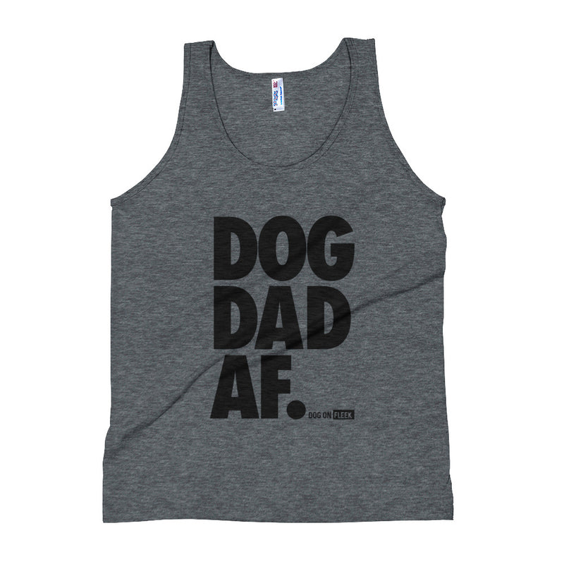Dog Dad AF: Tank Top