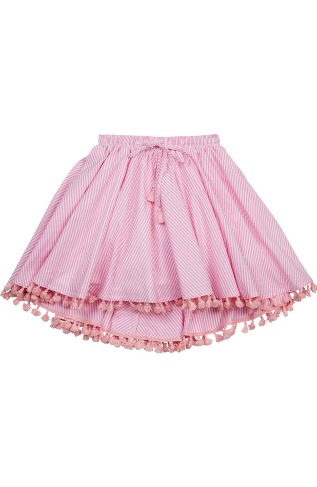 "Paper Wings ""Circle Skirt w/ Tassels"""