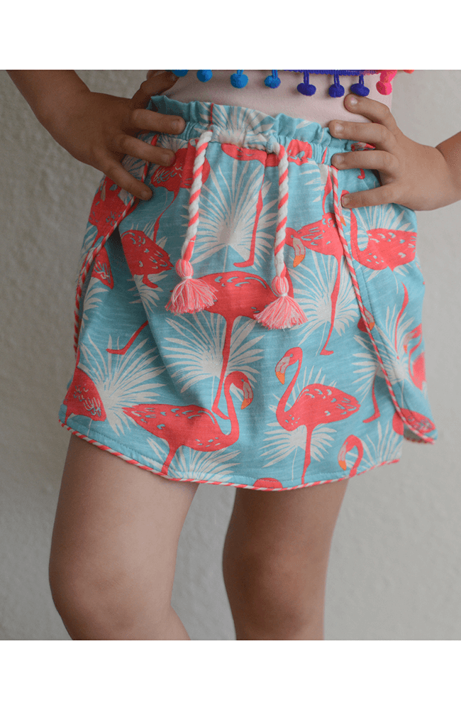 "Billieblush ""Flamingo Jersey Knit Skirt"""