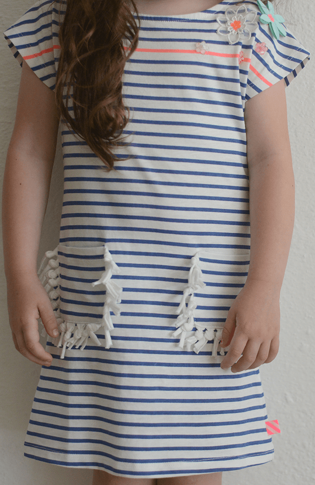 "Billieblush ""Jersey Knit Stripe Dress"""