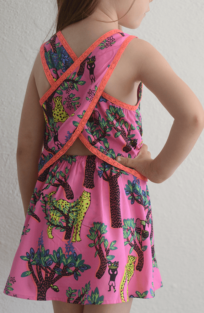 "Billieblush ""Jungle Print Dress"""