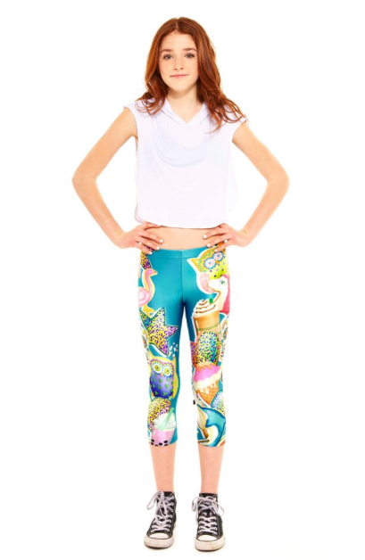 "Terez ""SweetAmbs Capri Leggings"""