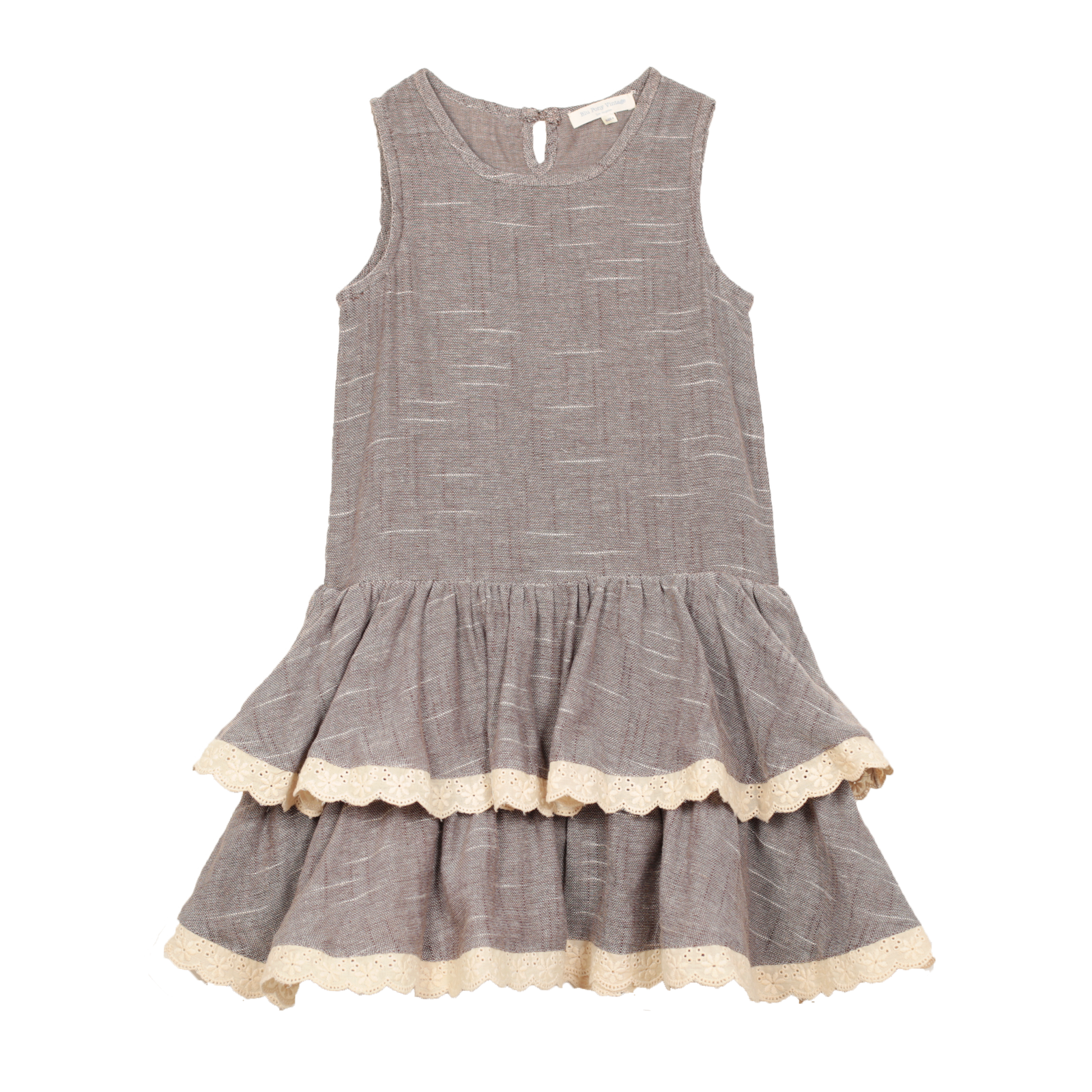 """Clara"" Dress Double- Oat"