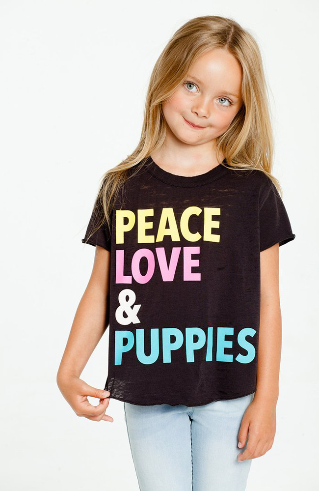 "Chaser ""Peace, Love & Puppies"""
