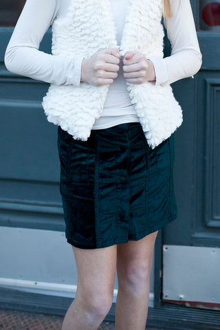 "Billieblush ""Seafoam Terry Shorts"""