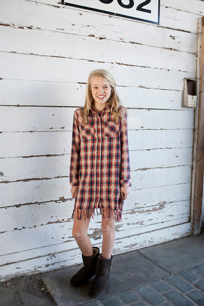 India Mae Woven Dress