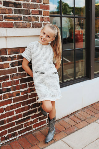 Tween Striped Dress Multi