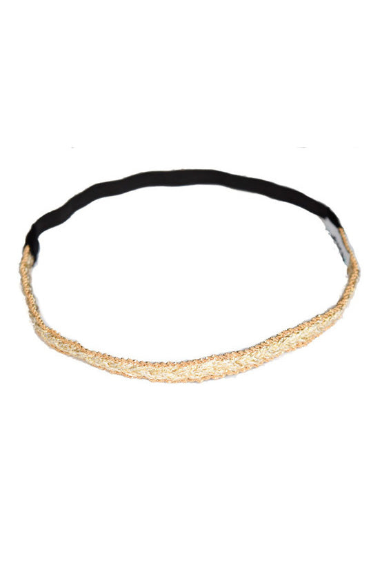 "Headbands of Hope ""Gold Braid"""