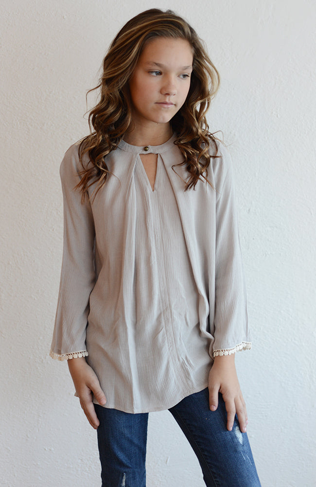 "Hayden LA ""Girls Trapeze Tunic"""