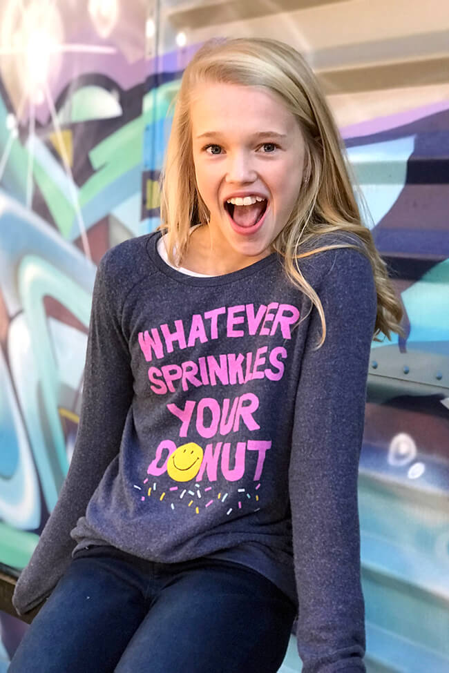 Whatever Sprinkles Your Donut Sweatshirt