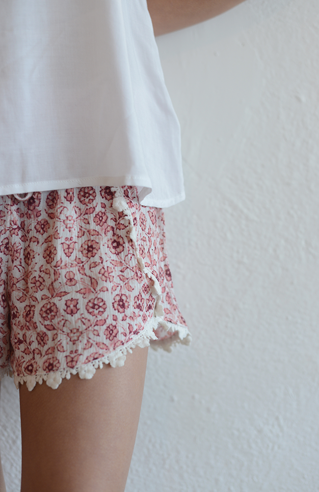 "Love Daisy ""Flower Short"" Pink"