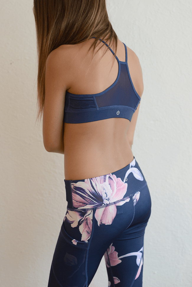 "Miss Behave Fit ""Floral Sports Bra"""