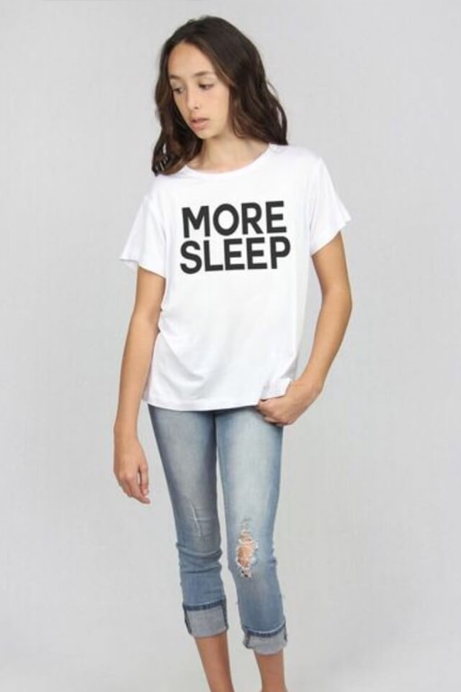 "Rosie G ""More Sleep Graphic Tee"""