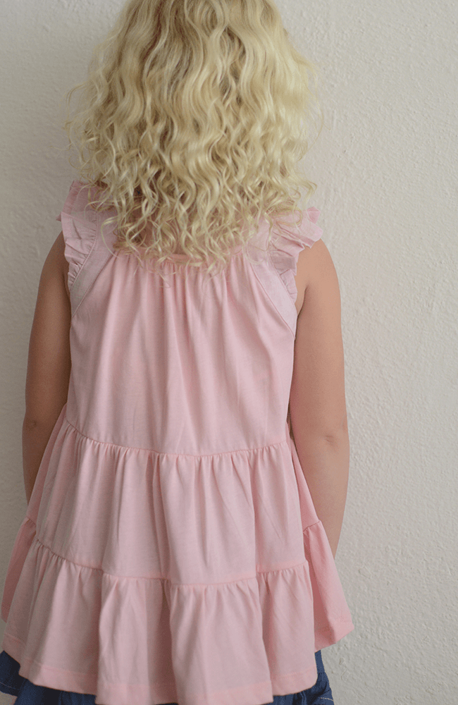 "Paper Wings ""Frilled Singlet"""