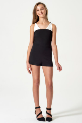 "Sally Miller ""The Brooklyn Romper"" Black"