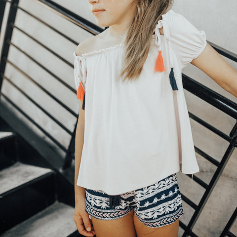 Girls Tulip Short