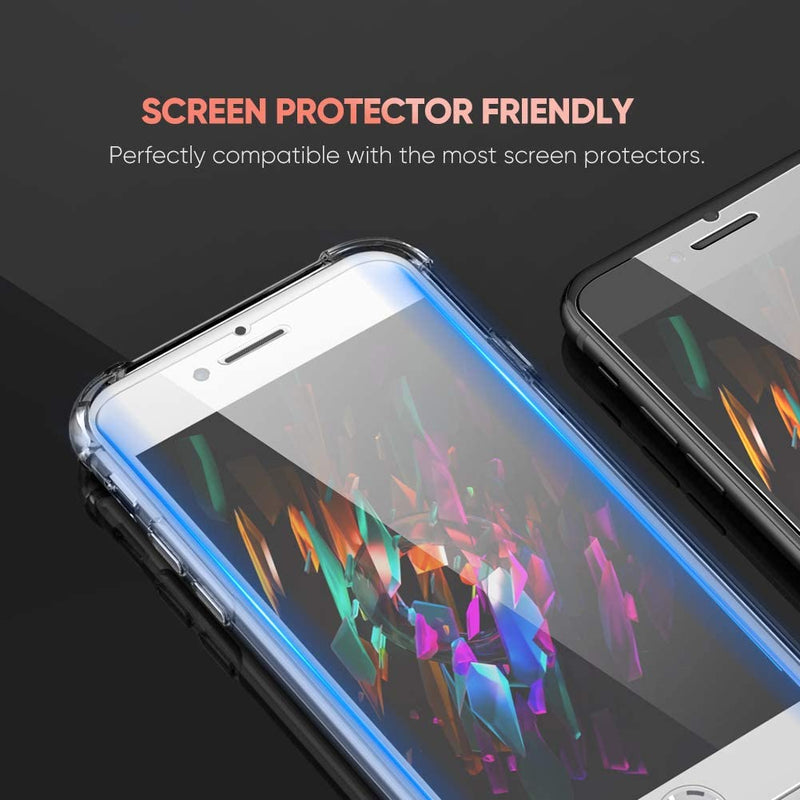 Slim Clear Case Shockproof Bumper Protective Cover Flexible Silicone