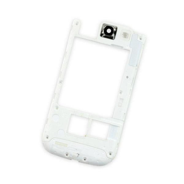 Galaxy S III Midframe (AT&T) / White / B-Stock
