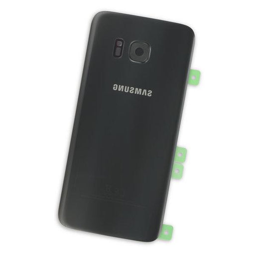 Galaxy S7 Edge Rear Glass Panel / Black