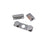iPhone 5S, SE Volume, Vibrator & Power Silver Button Set