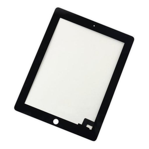 iPad 2 Digitizer Front Panel / Black / Without Adhesive Strips