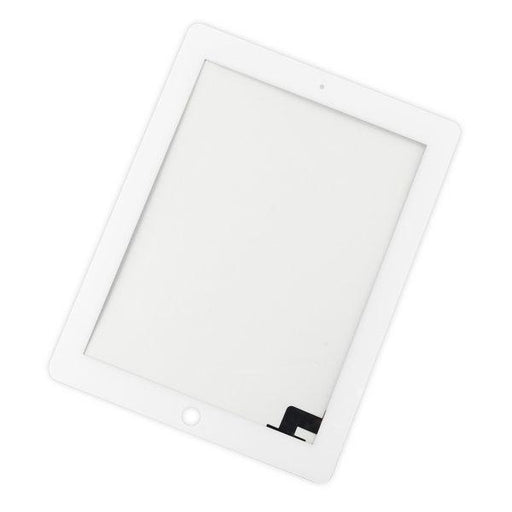 iPad 2 Digitizer Front Panel / White / Without Adhesive Strips