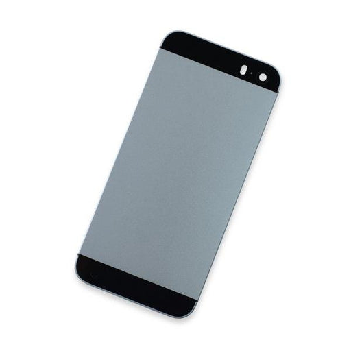 iPhone 5s Blank Rear Case / Black / Black