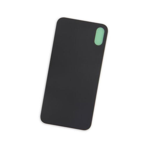 iPhone X Aftermarket Blank Rear Glass Panel / Black
