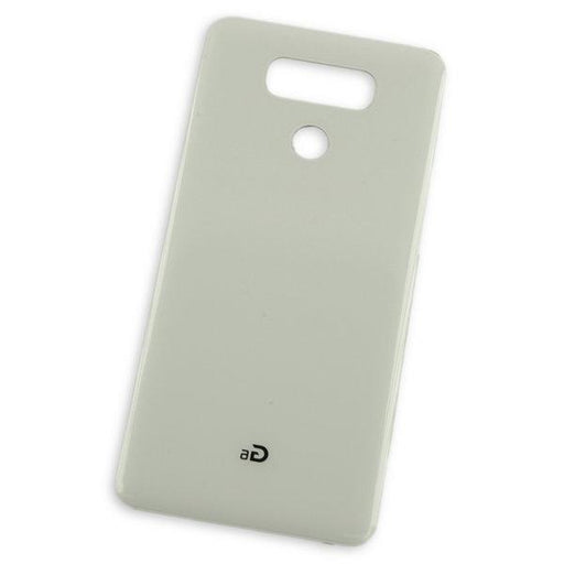 LG G6 Rear Glass Panel / White