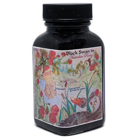 Noodler's Ink Black Swan in Australian Roses - 88ml - The Desk Bandit