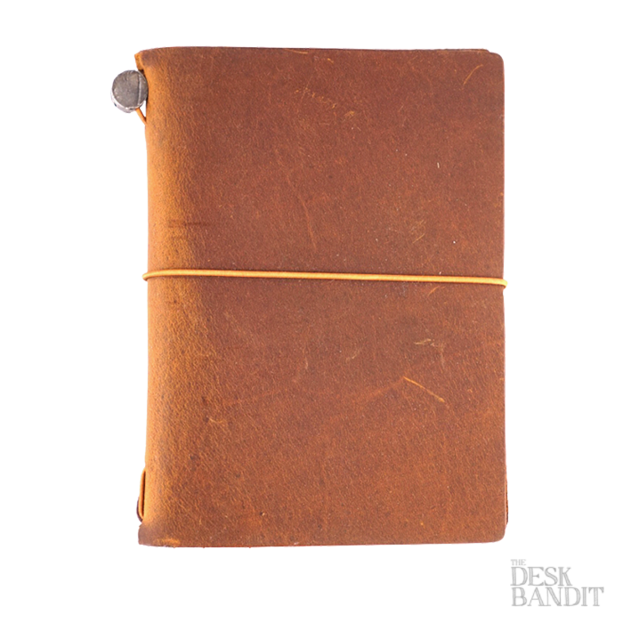 Traveler's Company Passport Leather Cover (Camel) - The Desk Bandit