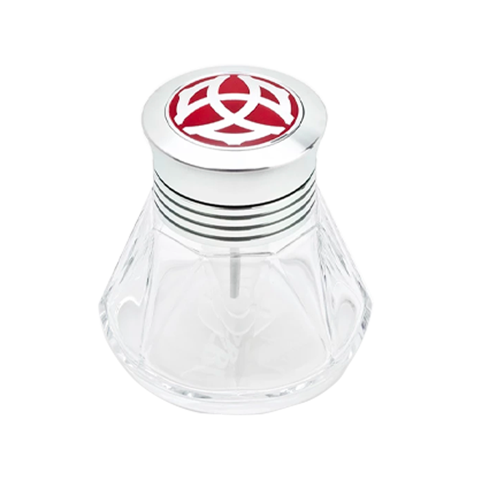 TWSBI Diamond 50 Polished Aluminium Ink Bottle (50ml) - The Desk Bandit