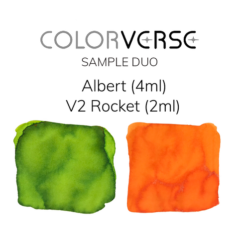 Colorverse Albert and V2 Rocket - 4ml + 2ml Sample Set - The Desk Bandit