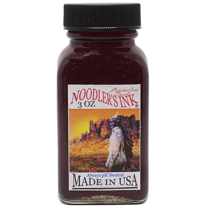 Noodler's Ink Apache Sunset - 88ml - The Desk Bandit