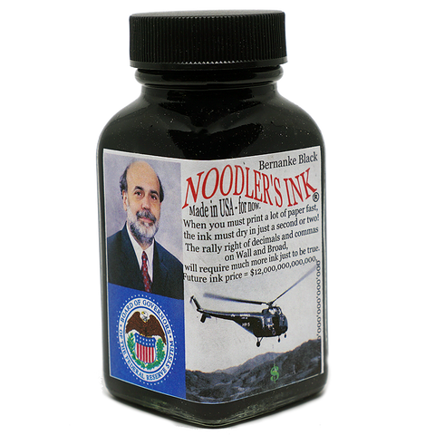 Bernanke Black - 88ml - The Desk Bandit