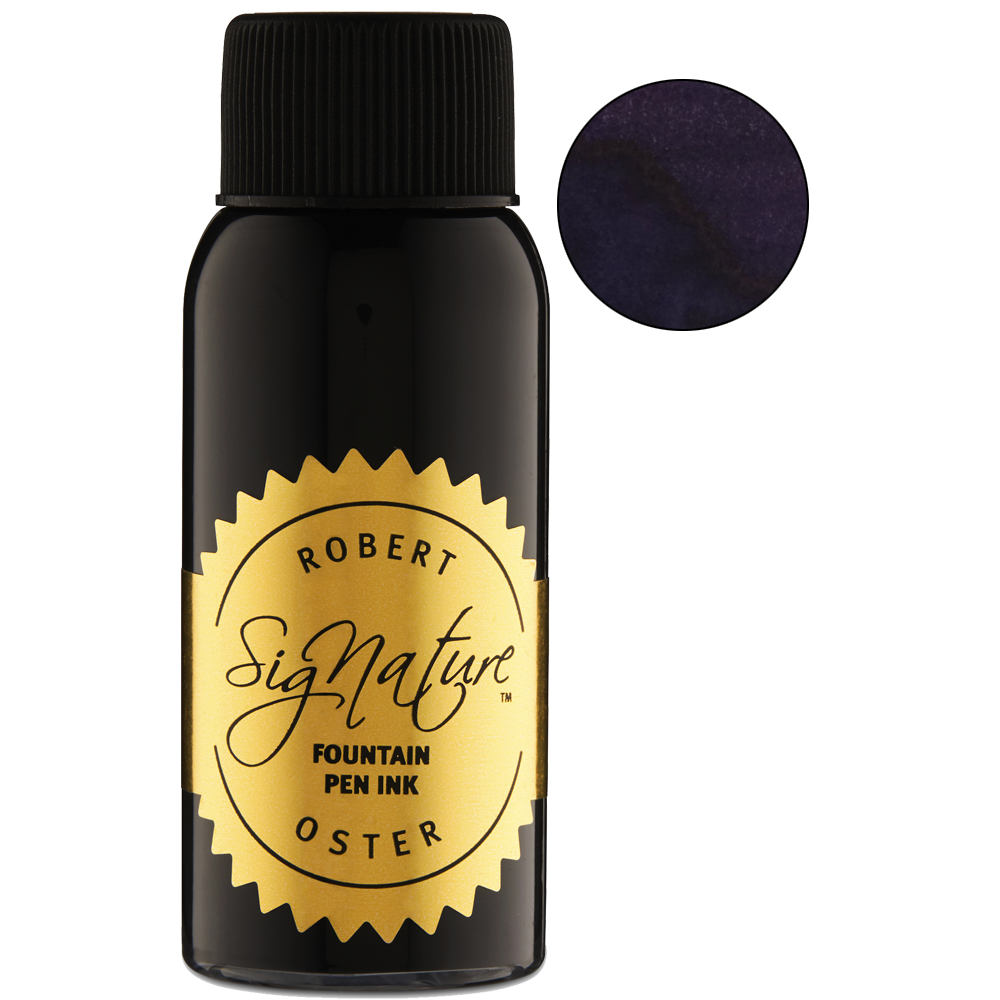 Robert Oster Black Violet - 50ml - The Desk Bandit