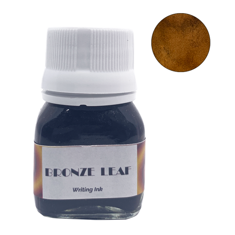 Krishna Inks Bronze Leaf - 20ml - The Desk Bandit