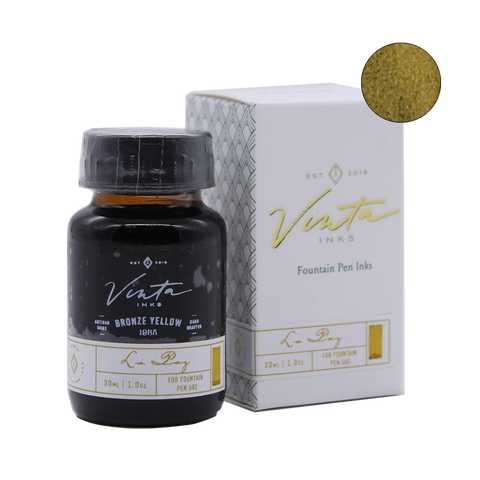 Vinta Inks Bronze Yellow (La Paz 1985) - 30ml - The Desk Bandit