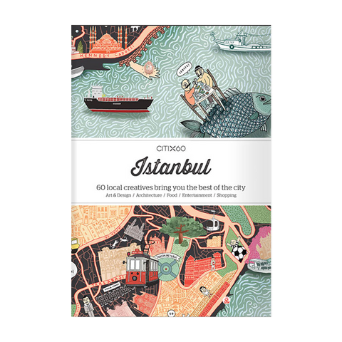 Victionary CITIx60 City Guides - Istanbul - The Desk Bandit