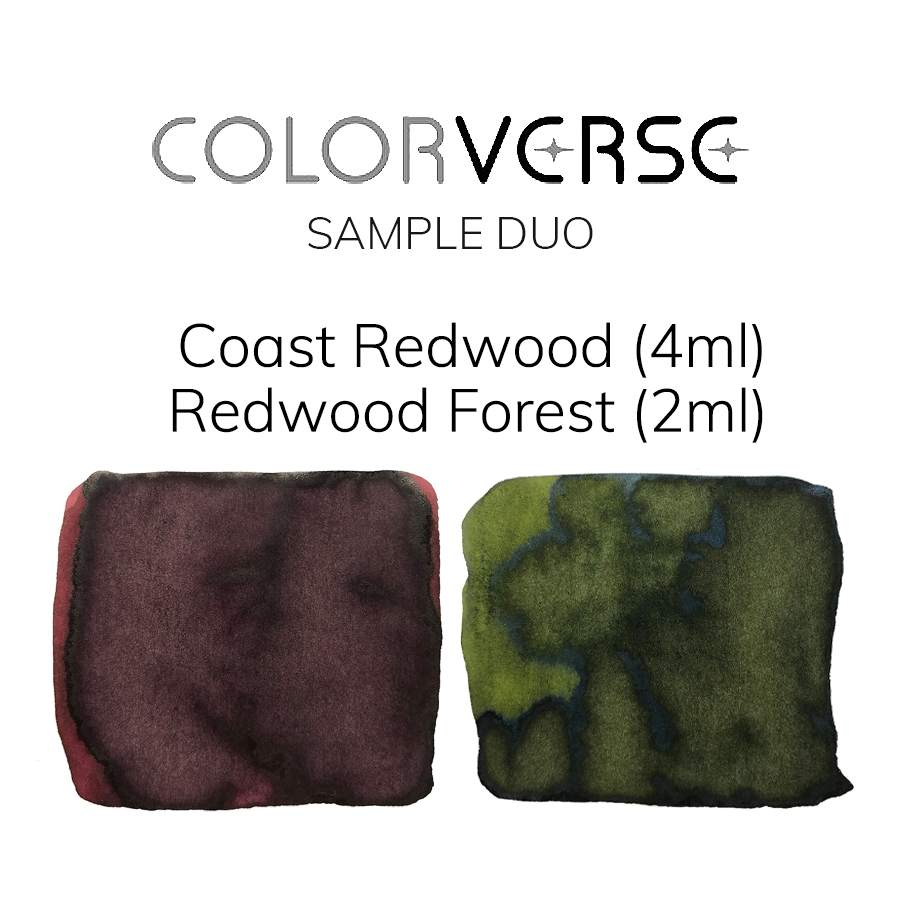 Colorverse Coast Redwood & Redwood Forest - 4ml + 2ml Sample Set - The Desk Bandit