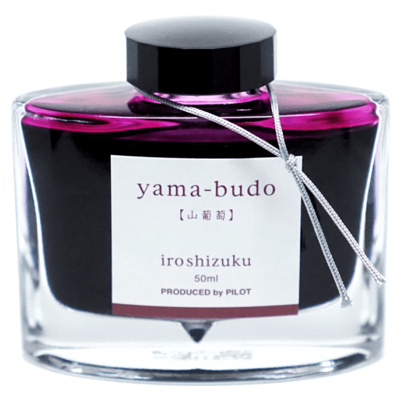 Pilot Iroshizuku Ink 50ml - Yama Budo - The Desk Bandit