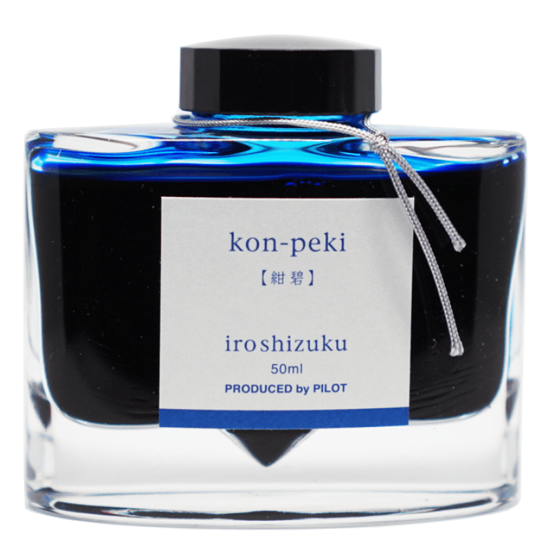 Iroshizuku Ink 50ml - Kon Peki - The Desk Bandit