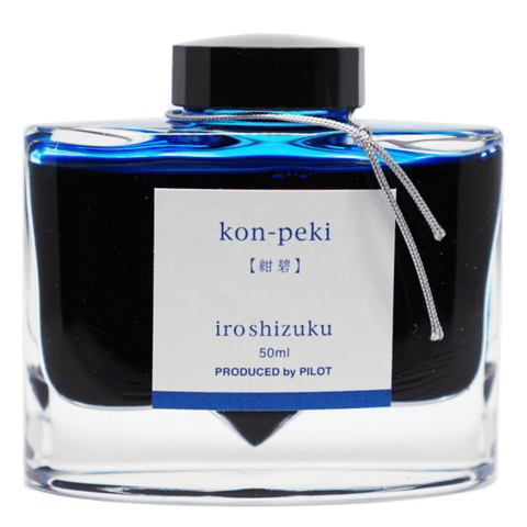 Pilot Iroshizuku Ink 50ml - Kon Peki - The Desk Bandit