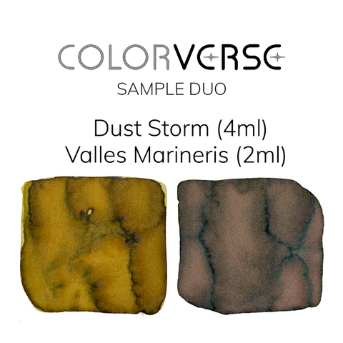 Colorverse Dust Storm and Valles Marineris - 4ml + 2ml Sample Set - The Desk Bandit